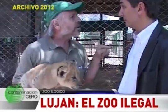 el dia que un informe de tv escracho al dueno del zoo de lujan