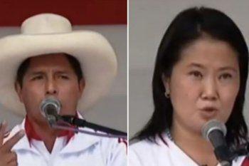 El conteo oficial en Perú se dio vuelta y ahora copia la tendencia de las encuestas a boca de urna que anunciaron un triunfo del candidato izquierdista Pedro Castillo