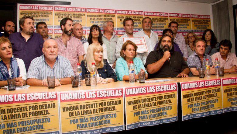 La paritaria todavía no tuvo oferta salarial y los gremios exigen la presentación de una propuesta
