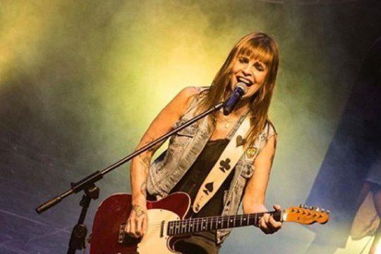 Fabiana Cantilo se iba a presentar este viernes 16 de abril en La Plata. Reprogramarán el show para el mes de mayo.
