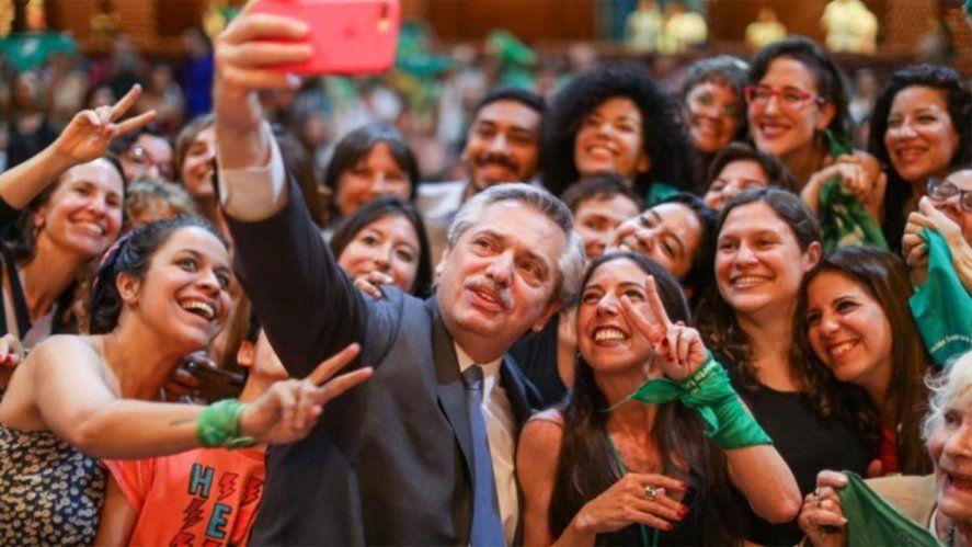 Alberto Fernández se mostró confiado respecto de la aprobación del abortovisibility