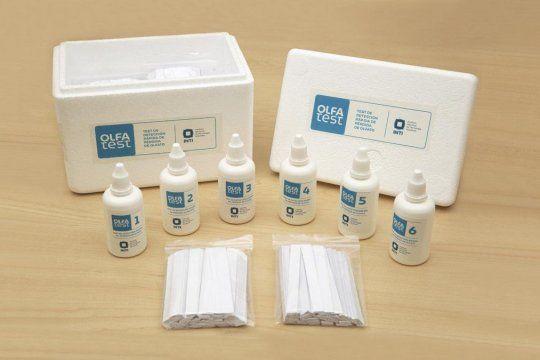 Covid-19: autorizan la evaluación de un kit olfativo