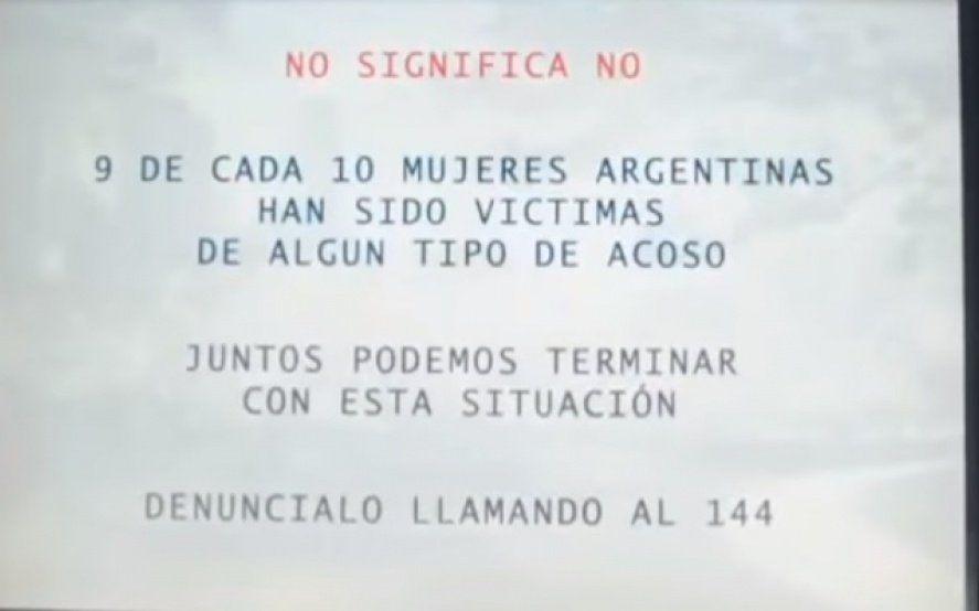"""""""No es no"""" La novedosa campaña de un banco contra la violencia de género"""