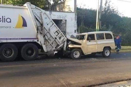temperley: encandilado por el sol embistio y mato a un recolector de residuos