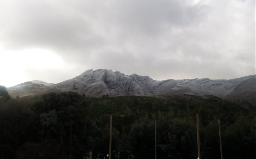 ¿Nieve en Sierra de la Ventana? Las sierras están cubiertas por la ola polar