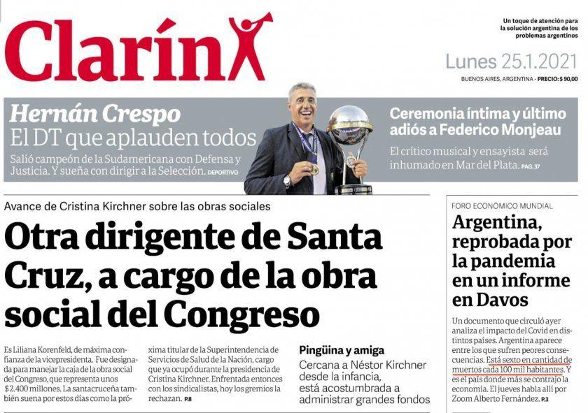La mentira en la tapa de Clarín sobre la cantidad de muertos por millón en Argentina