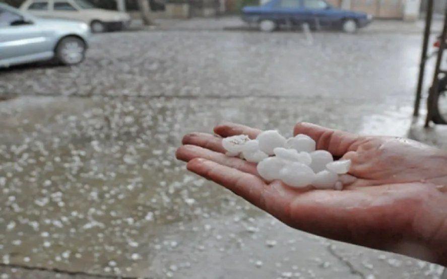 Nuevo alerta por tormentas fuertes: dónde va a caer granizo