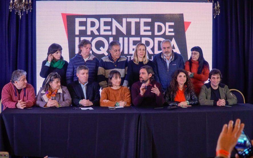 """El FIT Unidad resaltó el """"derrumbe"""" de Macri y advirtió que Fernández """"mantendrá el sometimiento al FMI"""""""