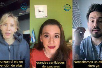 Personalidades del espectáculo participaron de un video para pedir el tratamiento y la aprobación de la ley