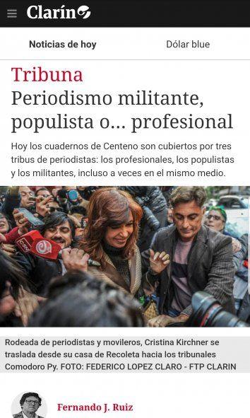 Periodismo militante, haz lo que yo digo y no lo que yo hago