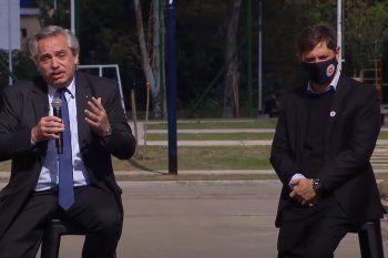 Alberto Fernández contó la primera reunión que mantuvo con Axel Kicillof en una parrilla.