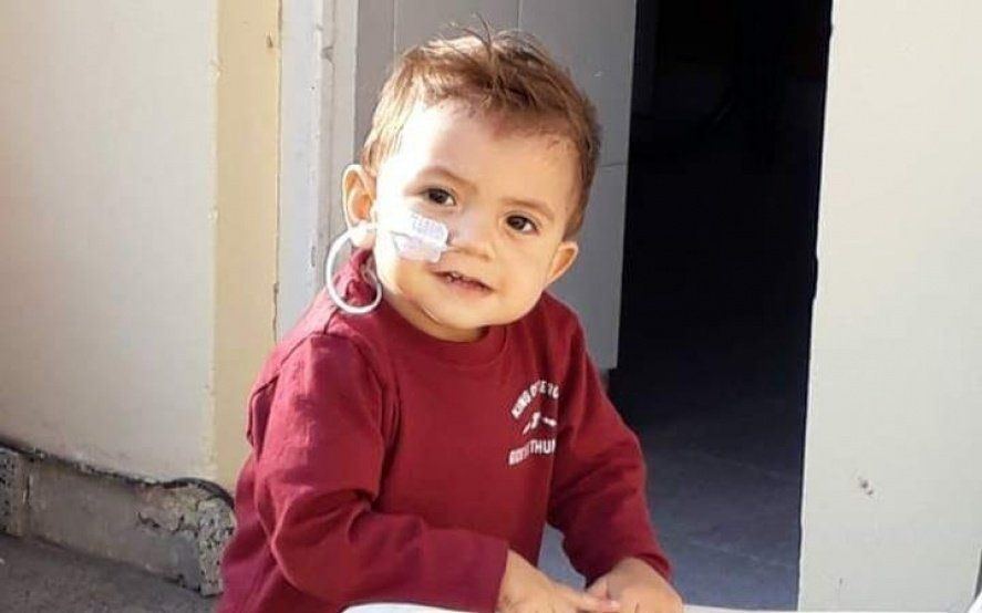 Todos con Cirito: tiene un año, necesita un trasplante y su familia pide ayuda para su tratamiento