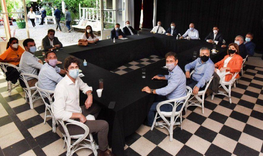 El miércoles los líderes de Juntos por el Cambio se reunieron en la mesa nacional.