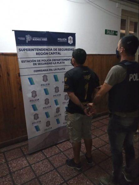 Cayó un hombre en La Plata acusado de cometer una entradera