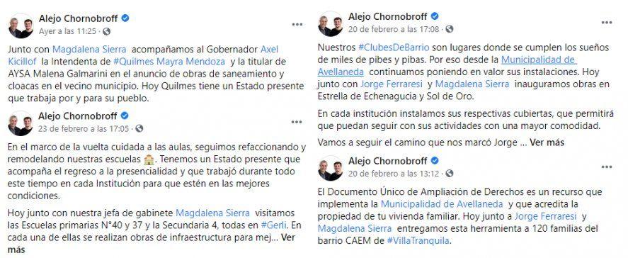 En Avellaneda, el Intendente parece empleado de su Jefa de Gabinete.
