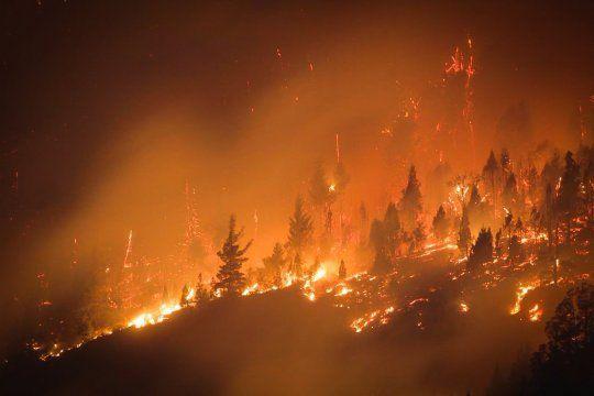 Incendios: Fuego en la Patagonia Argentina
