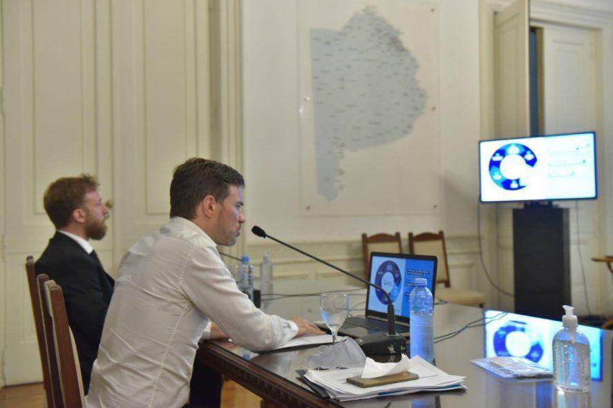 Augusto Costa explicó el plan de reactivación que debatirá la Legislatura