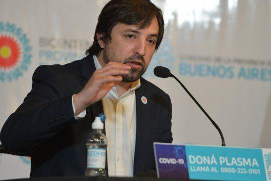 El viceministro de Salud, Nicolás Kreplak, admitió que en invierno, con clases, y lugares cerrados, es esperable que haya una segunda ola muy grande.