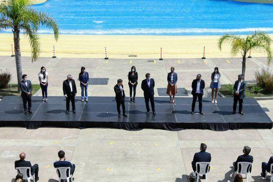 Parque de la Costa abrió sus puertas. Massa y Kicillof, en la inauguración.
