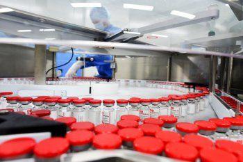 Richmond produjo en el país las primeras 450.000 vacunas contra el coronavirus.