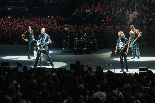 Metallica en vivo el 22 de octubre de 2017