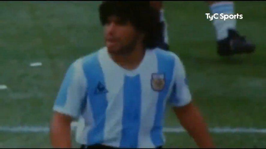 VIDEO: El homenaje a Maradona con la voz de Gilda
