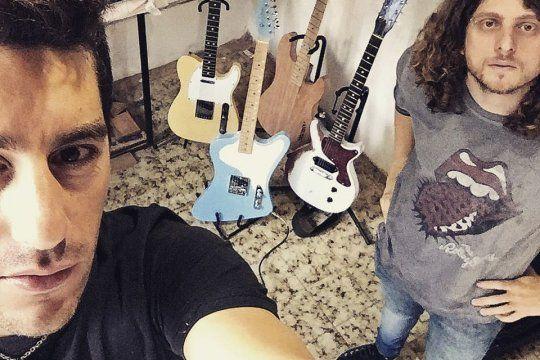 Seba Pardo y Matias Feregotto de Pardo Guitars