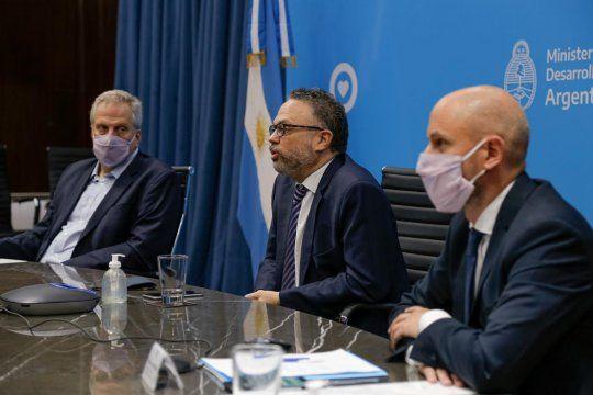 El ministro Matías Kulfas encabezó el anuncio para las pymes