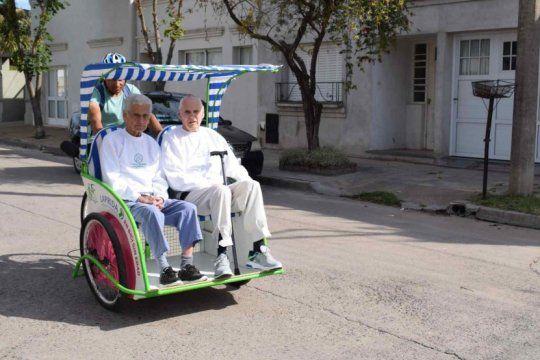 de europa a la provincia: laprida se convirtio en la primera ciudad de argentina con ?bicis sin edad?