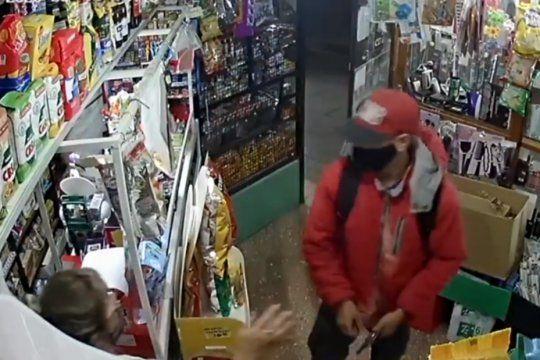 El robo fue en un kiosco de 60 y 140 en Los Hornos
