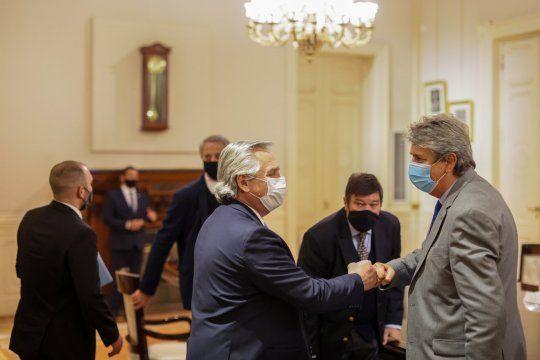 El Consejo Agroindustrial Argentino (CAA) fue recbido por Alberto Fernández