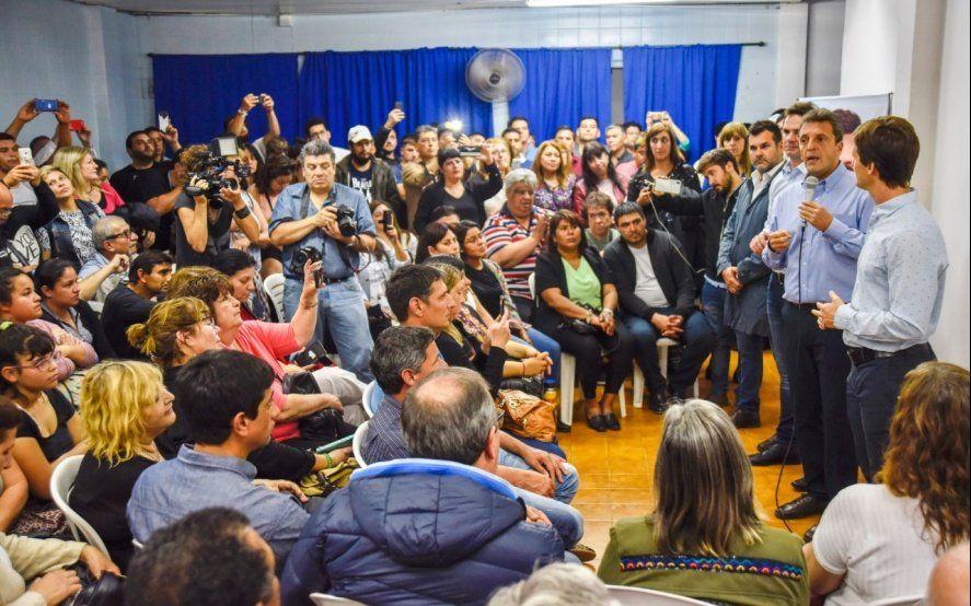 Massa recorrió San Vicente y disparó contra el desastre de la política económica de Macri