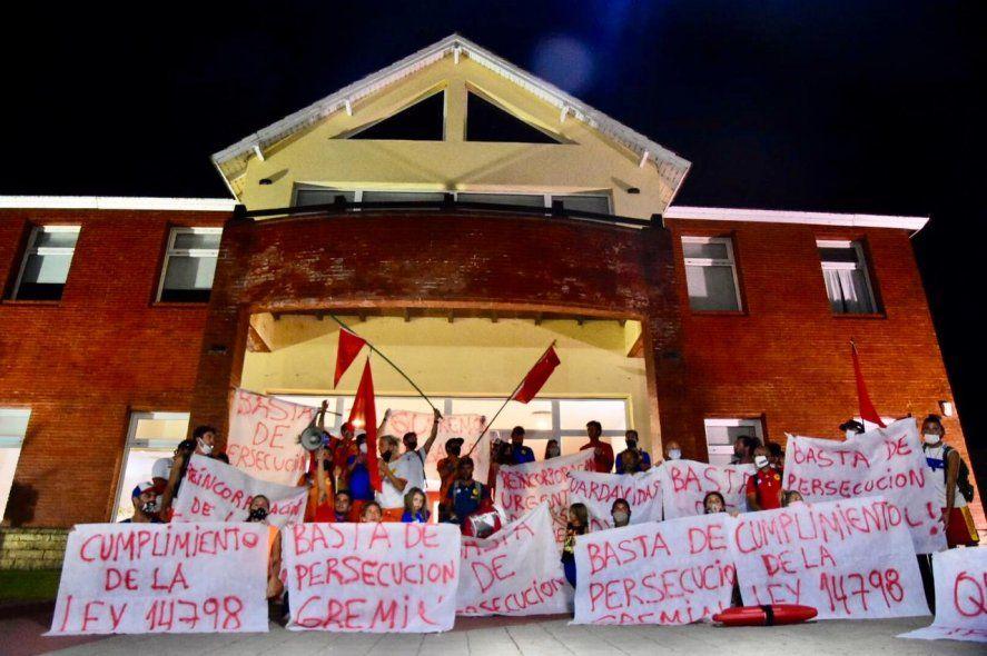 Guardavidas de Monte Hermoso preparan nuevas acciones para el fin de semana