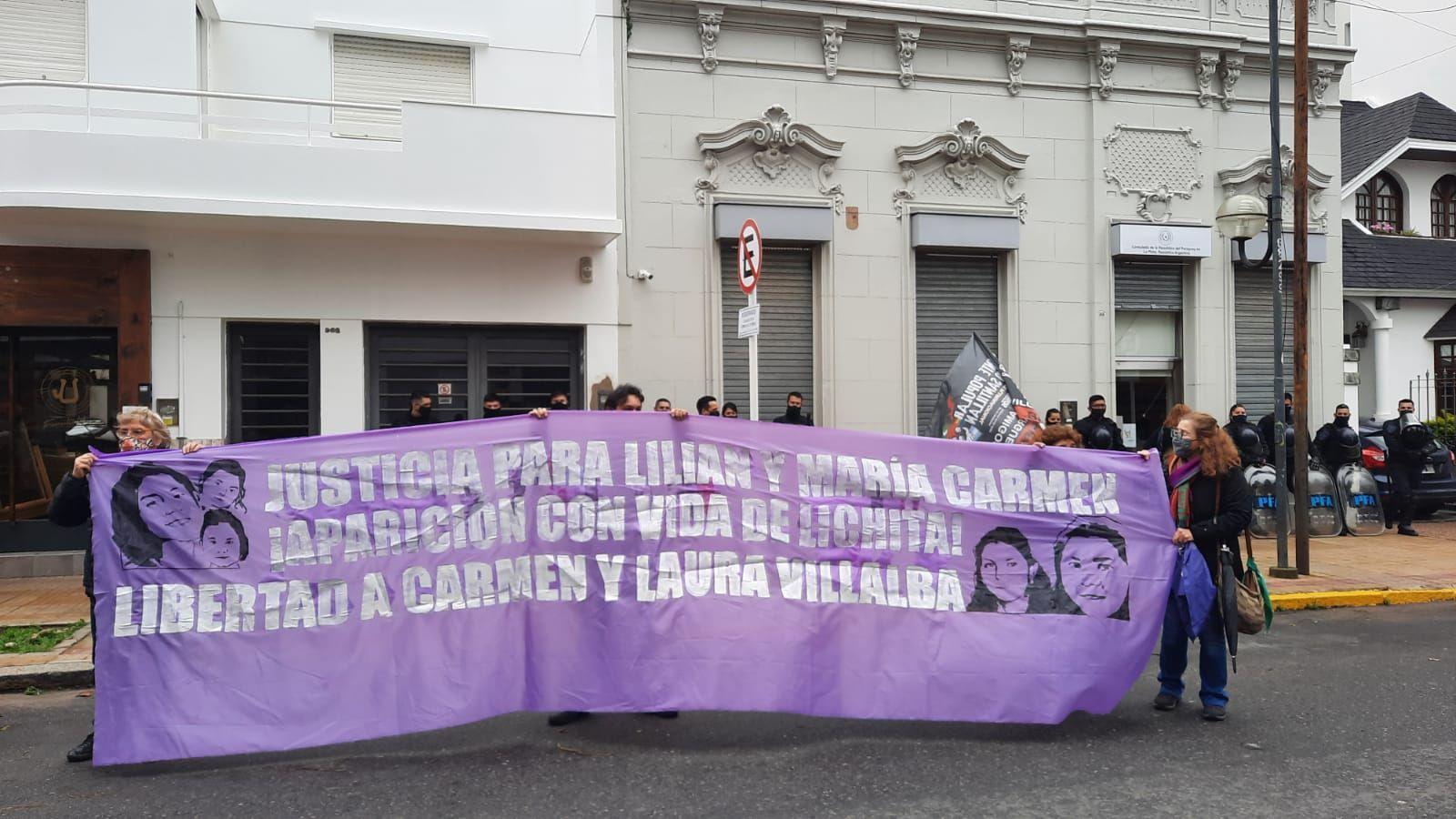 piden justicia para las ninas argentinas asesinadas en paraguay