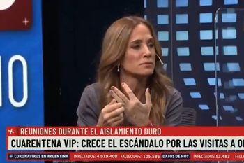 Victoria Tolosa Paz en el canal de Macri según Jonatan Viale