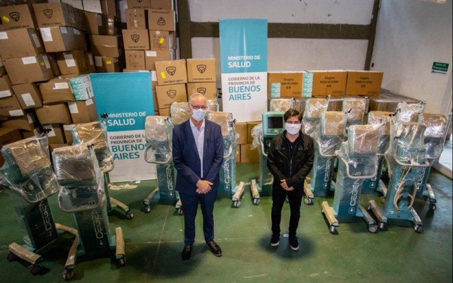 La Provincia pagó $124 millones por respiradores que nunca llegaron