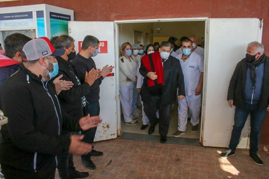 El intendente de José C. Paz pasó 12 días internado por coronavirus.