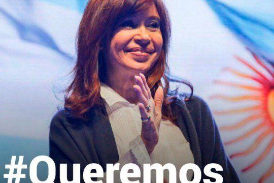 #queremosveracristina, la campana en apoyo a cfk que se volvio tendencia en las redes sociales