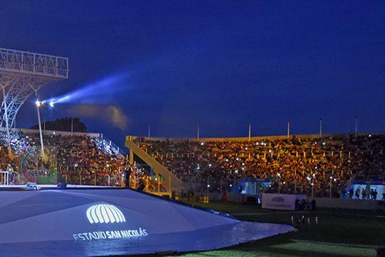 El Estadio Único de San Nicolás recibirá al público de la Copa Argentina.