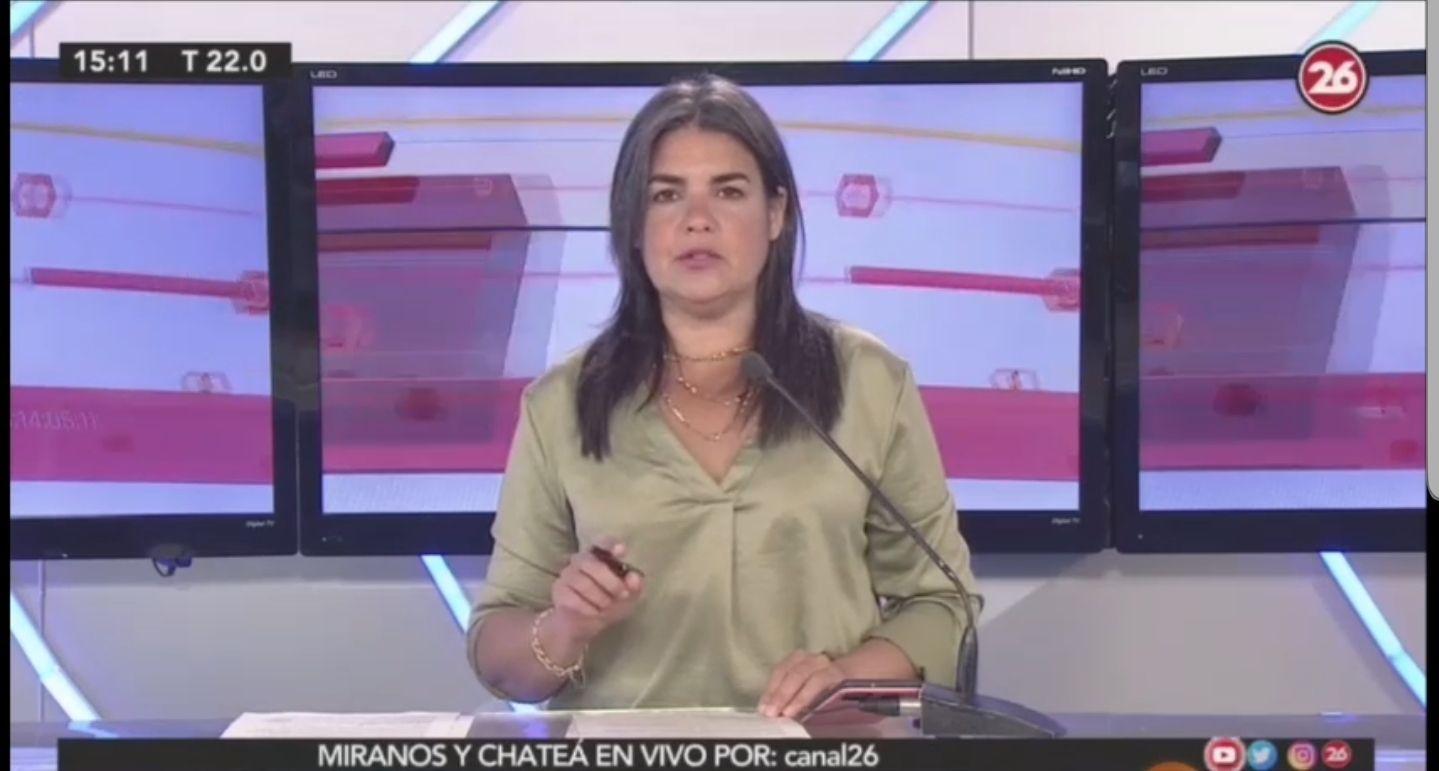la locutora del canal 26 ahora acuso a china de trafico de organos