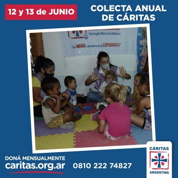 Los medios de donación serán principalmente virtuales, aunque seguirá habiendo sobres de Cáritas