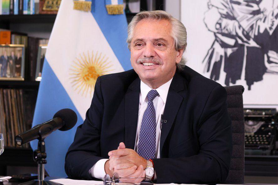 Alberto Fernández encabeza acto por las Islas Malvinas