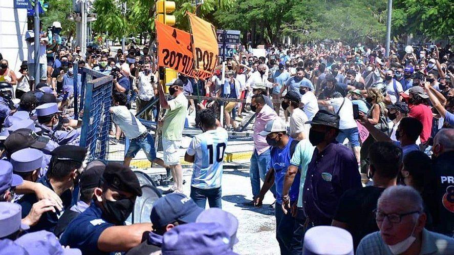 Formosa: represión tras el anuncio del regreso a fase 1