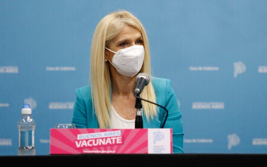 Magario resalto la campaña de vacunación contra el coronavirus