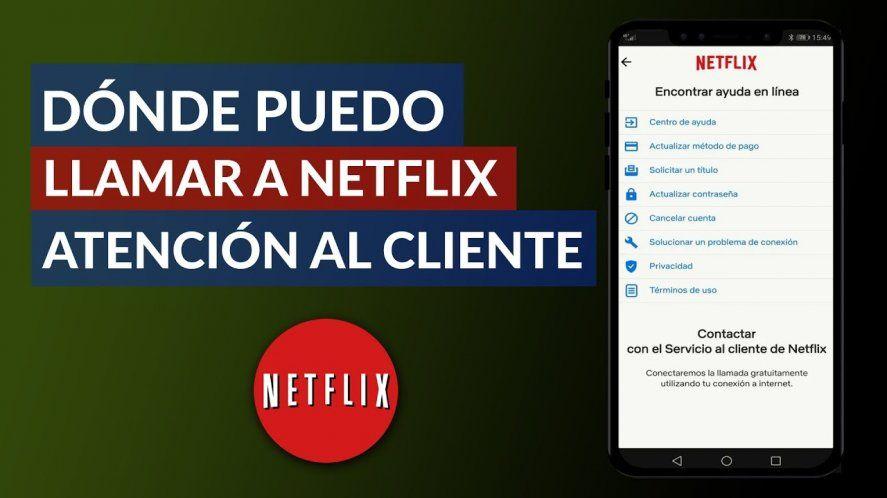 Cómo obtener ayuda para el cliente de Netflix
