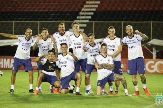 hay equipo: scaloni ya tiene los 11 que iran de arranque ante colombia por la copa america