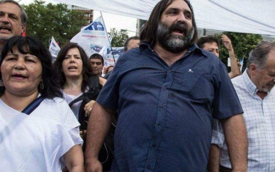 Baradel culpó a Vidal por la crisis del IPS y rechazó la armonización