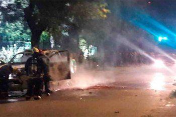 Femicidio de Úrsula Bahillo: así fue la brutal represión de la policía