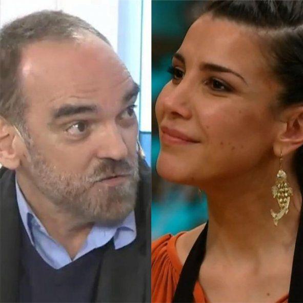 Fernando Iglesias contra Andrea Rincón por su grito en MasterChef