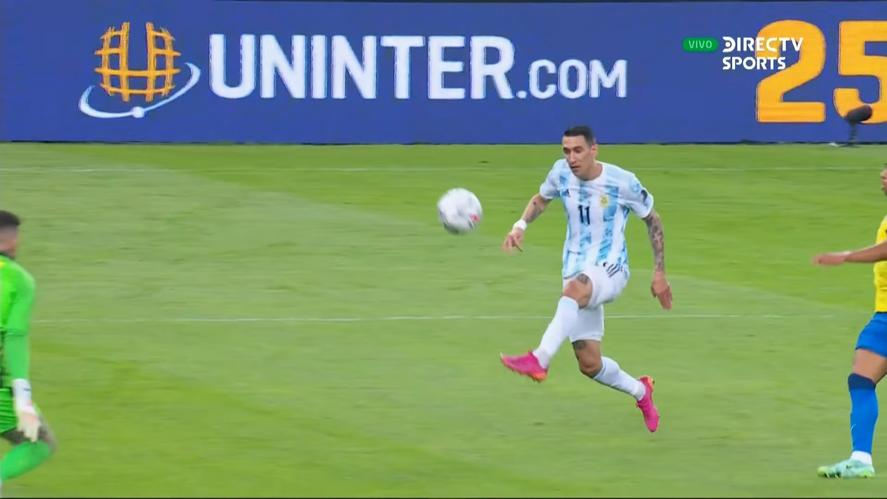 Argentina campeón: el increíble presagio de Di María y su esposa en un chat